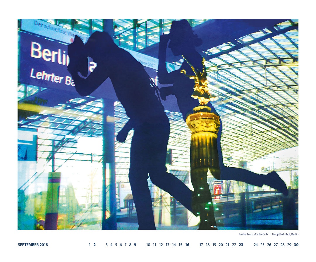 Berlin Kalender 2018 September