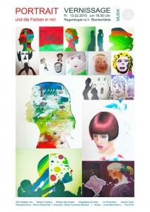 Unterricht-Kunst, das Portrait