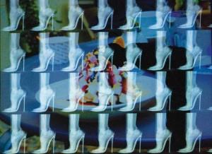 """Stoeckelschuhe""-Fotoarbeit auf Dibond-2012/ 45 x 60"