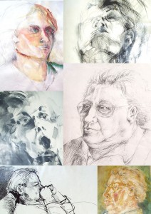 Zeichnungen 1 Portfolio Heike Franziska Bartsch