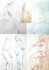 Zeichnungen 2 Portfolio Heike Franziska Bartsch